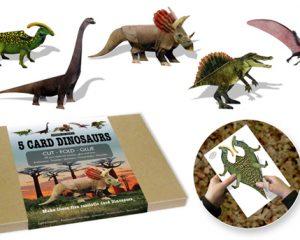 5 Card Dinosaurs B