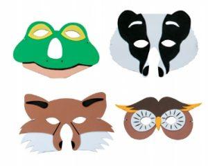 British Wildlife Foam Masks